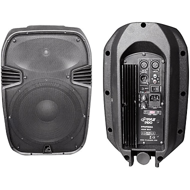 Pyle® PylePro PPHP885A 400 Watts 8in. Powered 2 Way Plastic Molded Speaker System