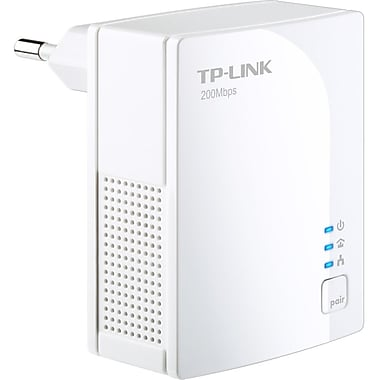 TP-LINK TL-PA2010 AV200 Nano Powerline Adapter, Up to 200Mbps, Plug and Play, Power Saving Mode