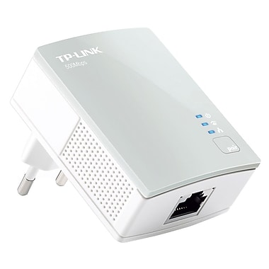 TP-LINK TL-PA4010 AV500 Nano Powerline Adapter, Up to 500Mbps, Plug and Play, Power Saving Mode
