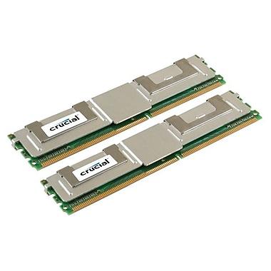Crucial 8GB (2 x 4GB) DDR2 (240-Pin DIMM) DDR2 667 (PC2 5300) MAC Memory Module