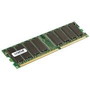 Crucial 1GB (1 x 1GB) DDR (184-Pin DIMM) DDR 333 (PC2700) Desktop Memory Module