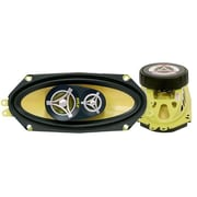 Pyle PLG41.3 300 W Coaxial Three-Way Speaker