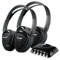 Power Acoustik HP-22IRT Wireless IR Headphones 30 - 20 kHz