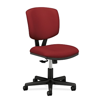 HON Volt Synchro-Tilt Chair Armless, Crimson