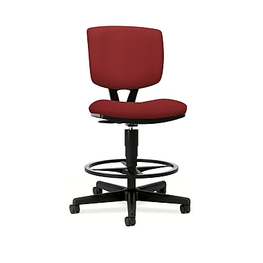 HON Volt Task/Drafting Stool, Crimson Fabric