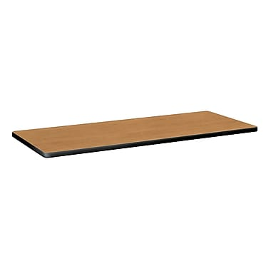 basyx by HON Rectangle Table Top 60in., Harvest/Black