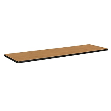 basyx by HON Rectangle Table Top 72in., Harvest/Black