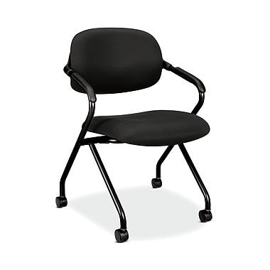 basyx by HON HVL303 Nesting Chair, Black