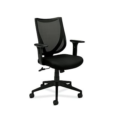 basyx by HON HVL561 Mesh Back Chair , Black
