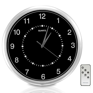 SecurityMan® ClockCamDVR Wall Clock Color Camera