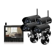 SecurityMan® DigiLCDDVR4 4 Channel Wireless Security System