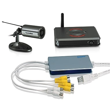 SecurityMan® iCamDVR1W Wireless Camera System