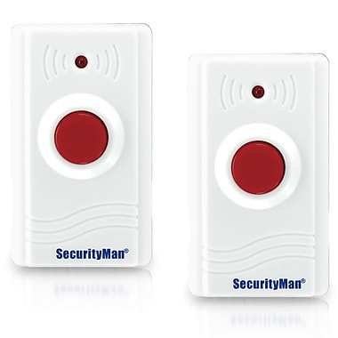 SecurityMan® SM-89-2PK Wireless Panic Button Device