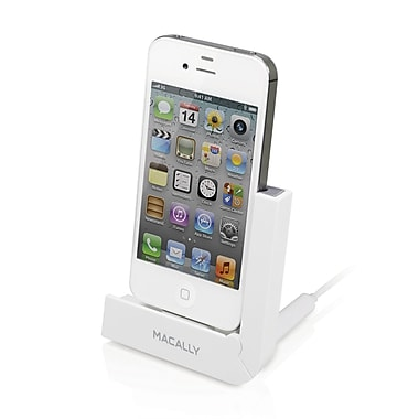 Macally Foldable Charging Stand For iPhone 4S/4