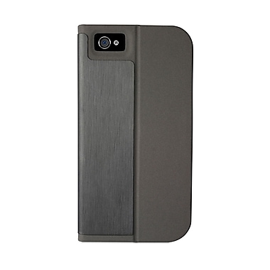 Macally Folio Stand Case For iPhone 5, Black