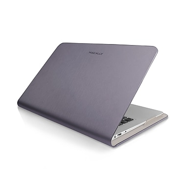 Macally Protective Case Cover For 11in. Macbook Air, Purple