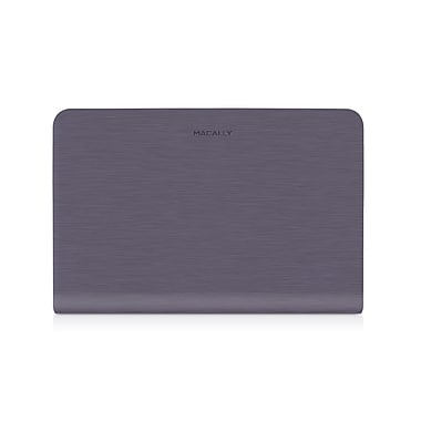 Macally Protective Case Cover For 13in. Macbook Air, Purple