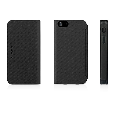 Macally Flip Case For iPhone 5, Black
