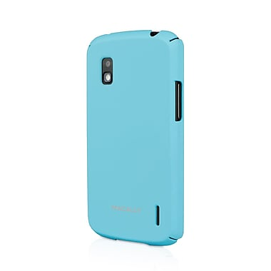 Macally Hardshell Case For Google Nexus 4, Baby Blue