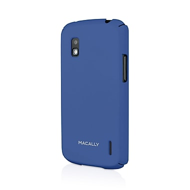 Macally Hardshell Case For Google Nexus 4, Blue