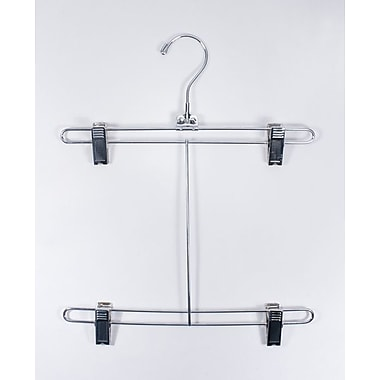 12in. Metal Bikini Hanger, Chrome