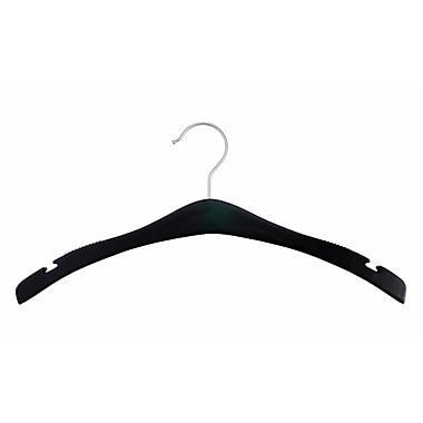 Wood Signature Top Hanger, Low Gloss Black, 17