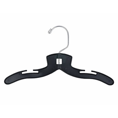 Plastic Super Heavy Weight Infant Dress Hangers, 10in.