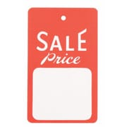 "NAHANCO 1 3/4"" x 2 7/8"" Large Unstrung Sale Tags"