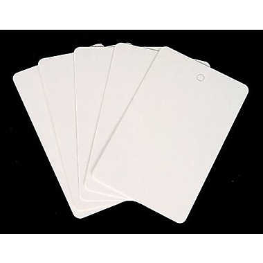 Blank Price Tag, White, 1 3/4in. x 2 7/8in.