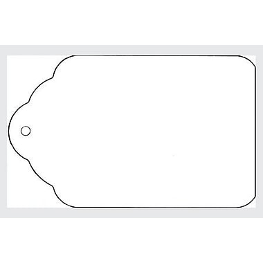 Strung All Purpose Merchandise Tag, White, 1 1/8in. x 1 13/16in.