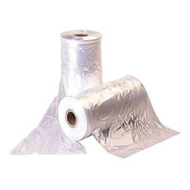 Medium Weight Poly Bag, Clear, 21in. x 3in. x 72'