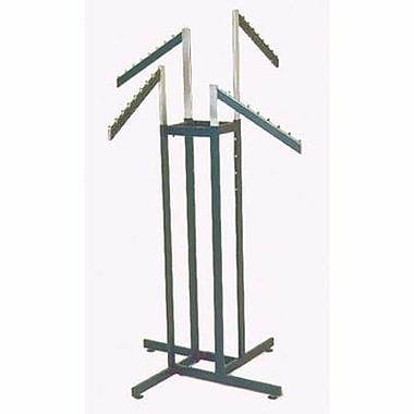 4 Way Rectangular Tubing Garment Rack With 4 - 18