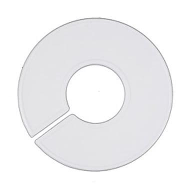 3 1/2in. x 1 3/8in. Blank Round Size Divider, White