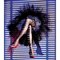 Slatwall Pair of Legs Hosiery Form, Beige Tone