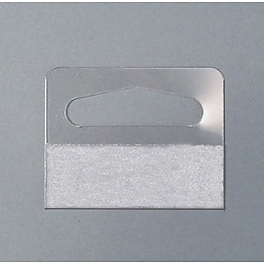 Wide Pressure Sensitive Package Hanger, 100/Pack