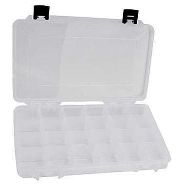14in. x 8 1/2in. x 2in. Plastic Storage Tray