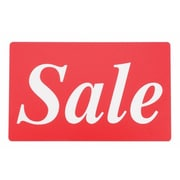 """Display Card """"SALE"""", Red/White, 7"""" x 11"""""""