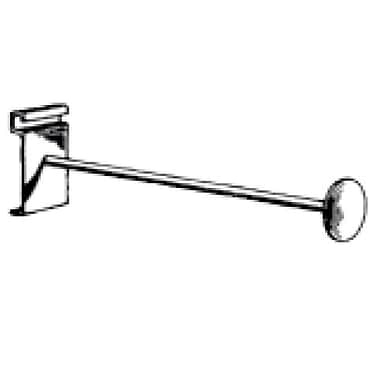 Shelf Bracket, Chrome, 12in.