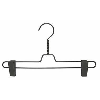Metal Pant Hanger, Gunmetal, 14in.