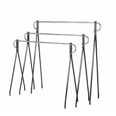 48in. x 5' Beauty Rack, Black
