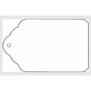 Strung All Purpose Merchandise Tag, White, 1 5/16in. x 1 15/16in.