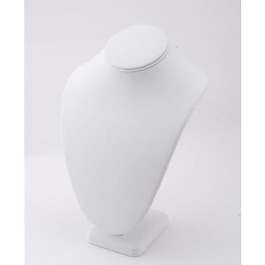 Leatherette NeckForm, White