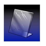 14 x 11 Acrylic Angled Sign Holder, Crystal Clear