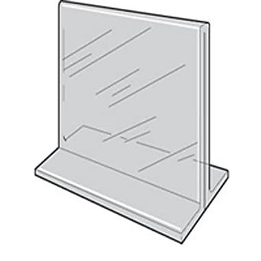 8 1/2in. x 11in. Acrylic 2-Sided Sign Holder, Crystal Clear