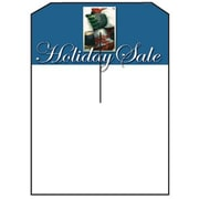 5 x 7 Slotted Tags Holiday Sale, Blue on White