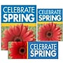 14 Pcs Big Format Sign Kit CELEBRATE SPRING,