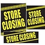 14 Pcs Big Format Sign Kit store Closing,