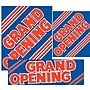 14 Pcs Big Format Sign Kit GRAND OPENING,