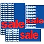 14 Pcs Big Format Sign Kit CLEARANCE SALE,