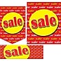 22 Pcs Budget Sign Kit SALE, Yellow on